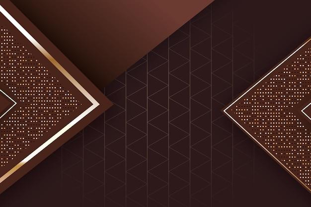 Realistische elegante geometrische formen tapete