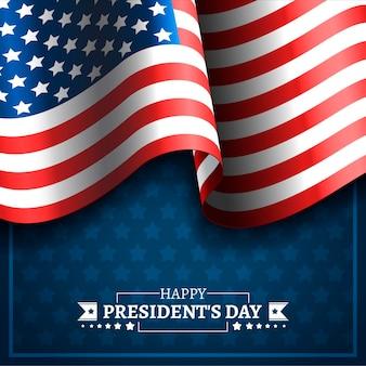 Realistische feier zum präsidententag