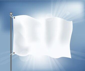 Realistische Flag-Vorlage