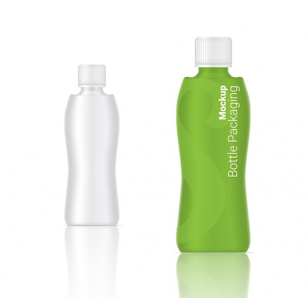 Realistische flasche
