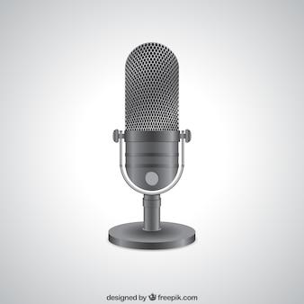 Realistische funkmikrofon
