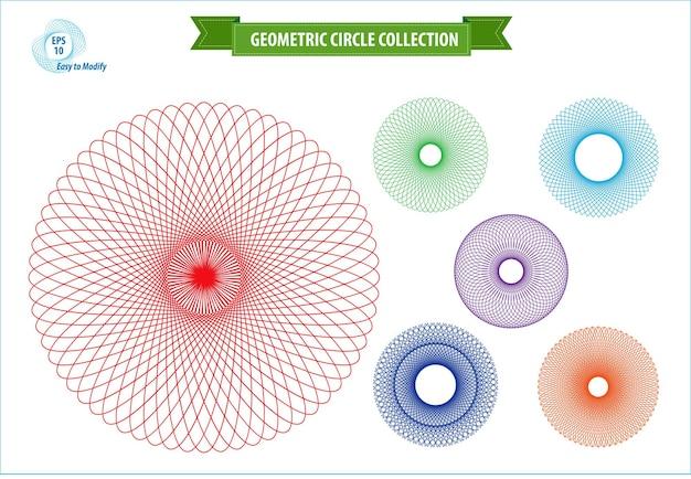 Realistische geometrische muster ornament geschenk logo vorlage geometrische linie kunst traumfänger