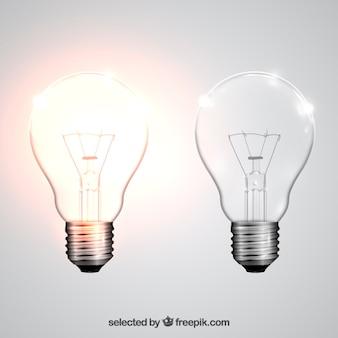 Realistische glühbirnen