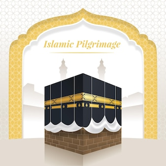 Realistische islamische pilgerreise