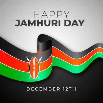 Realistische jamhuri-tagesfeier