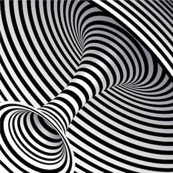 Realistische kaleidoskopische tapete