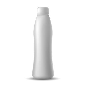 Realistische mockup-flasche
