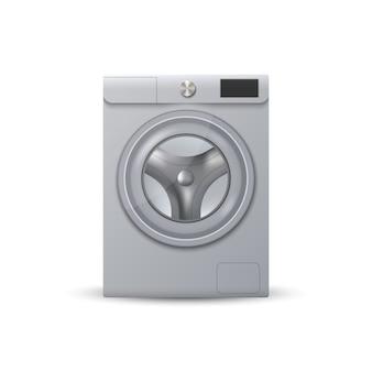 Realistische moderne waschmaschine