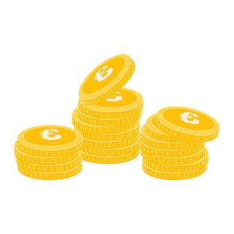 Realistische münze