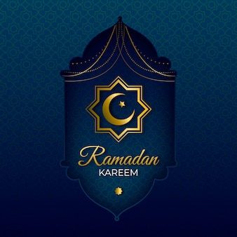 Realistische ramadan-tagesfeier