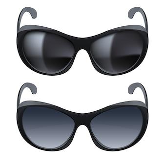 Realistische sonnenbrille
