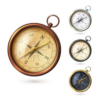 Realistische stil kompass