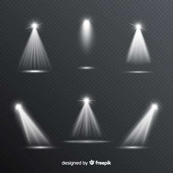 Realistische szenenbeleuchtungssammlung