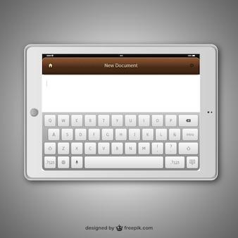 Realistische tablet