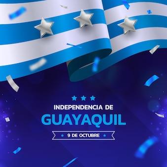 Realistische unabhängigkeit von guayaquil