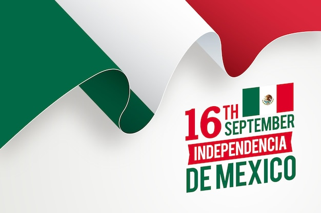 Realistische unabhängigkeit von mexiko
