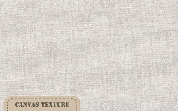 Realistische vektor-leinwand-textur natürlicher alter leinenhintergrund natürliche flachsfasergewebetapete