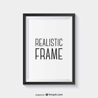 Realistische vektor-rahmen