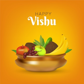 Realistische vishu-illustration