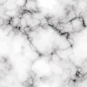 Realistische weißgraue marmorstruktur. hintergrund für grußkarten