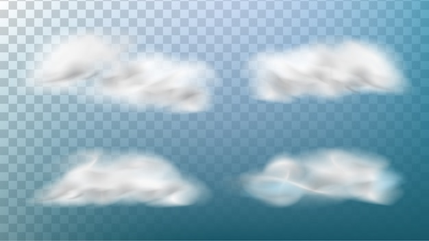 Realistische wolken