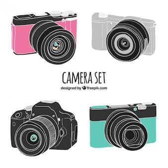 Realistische zeichnungen kamera