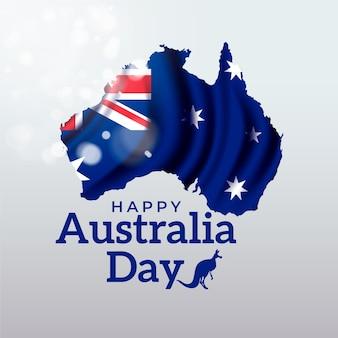 Realistischer australien-tag