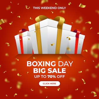 Realistischer boxing day sale