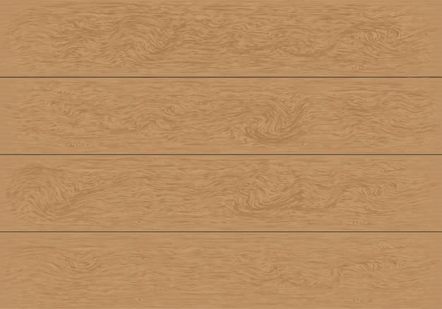 Realistischer brauner hölzerner plankenmusterhintergrund.