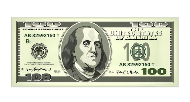 Realistischer dollar