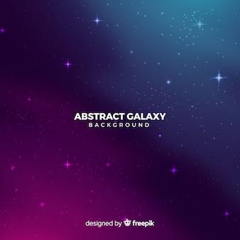 Realistischer dunkler abstrakter galaxiehintergrund