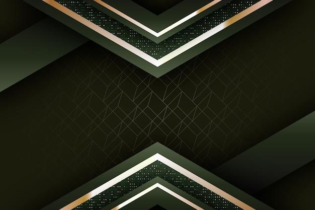 Realistischer eleganter geometrischer formenhintergrund