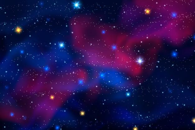 Realistischer galaxienhintergrund