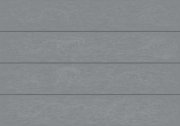 Realistischer grauer hölzerner plankenmusterhintergrund.
