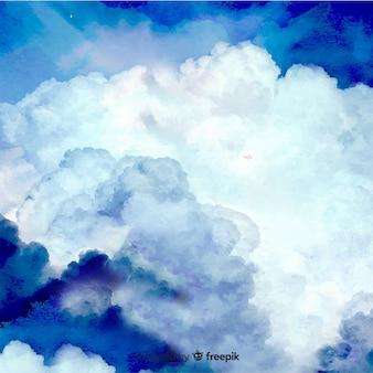 Realistischer himmelhintergrund