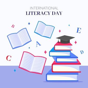 Realistischer internationaler alphabetisierungstag