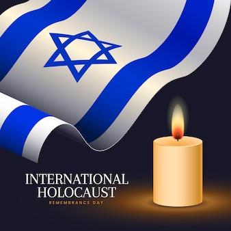 Realistischer internationaler holocaust-gedenktag