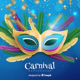 Realistischer karnevalshintergrund