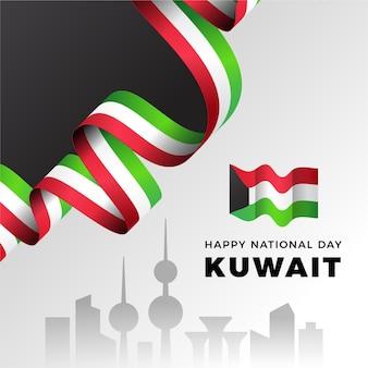 Realistischer kuwait-nationalfeiertag
