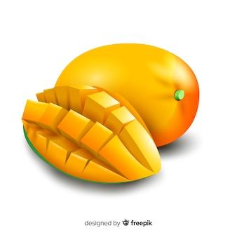 Realistischer mangohintergrund
