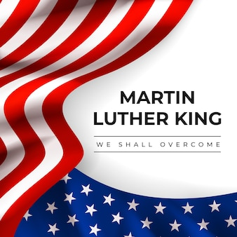 Realistischer martin luther king tag