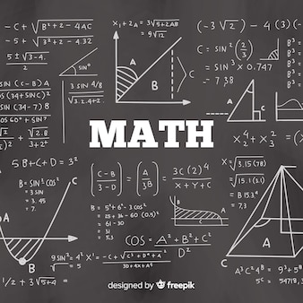 Realistischer mathetafelhintergrund