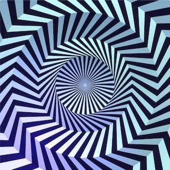 Realistischer optischer täuschungshintergrund