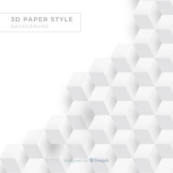 Realistischer papiereffekthintergrund