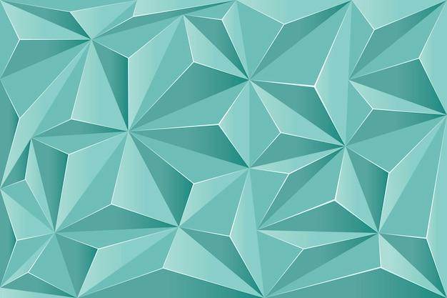 Realistischer polygonaler hintergrund