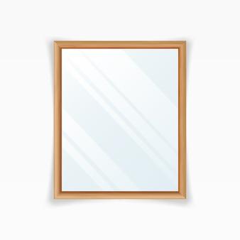 Realistischer spiegel-vektor