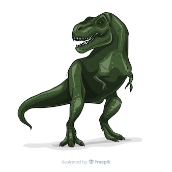 Realistischer t-rex hintergrund