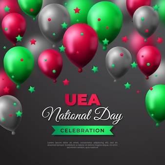 Realistischer vae-nationalfeiertag