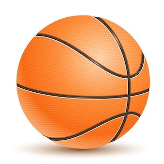 Realistischer vektor-basketball
