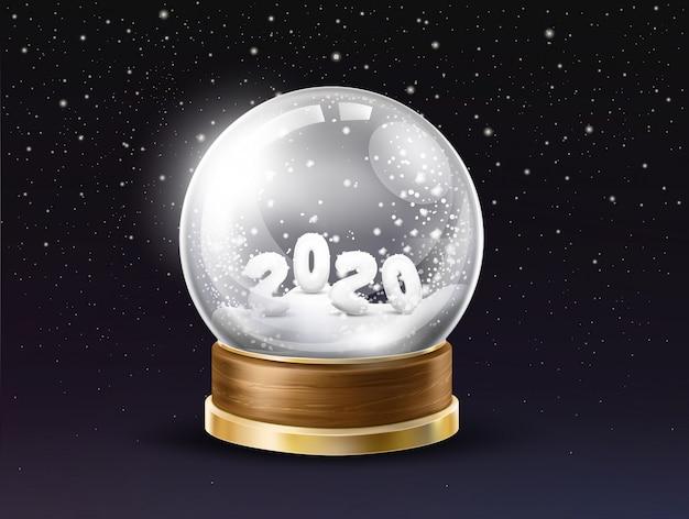 Realistischer vektor der neujahrsfeiertagsandenken